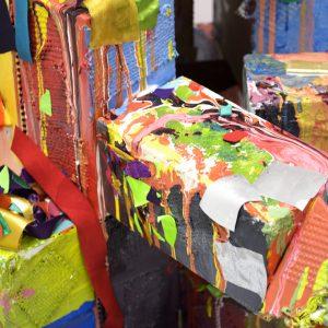 Blanca Silva, Viviana Mata, Danelle Fransen, Gloria Garcia, Janet Macumber, Rosa Felix, Grace Hiraki Pick Your Favorite Color (detail)