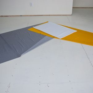 Grey Yellow Zig (Irregular Polygon Series)
