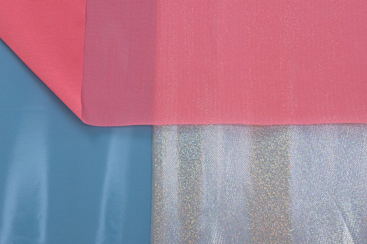 Pink Blue Stretcher, detail