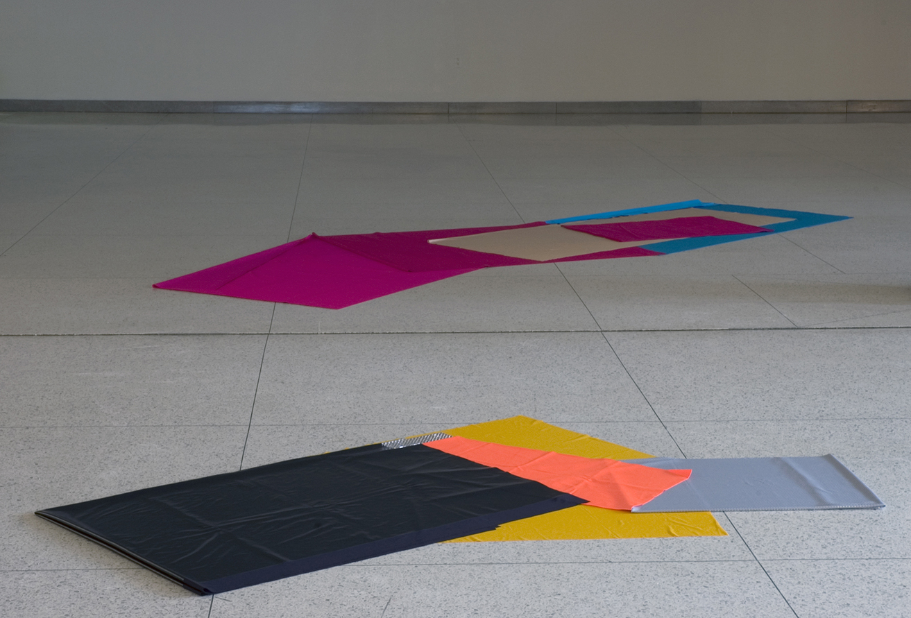 Installation View, Materialisms, 2009 Bowman, Penelec and Megahan Galleries, Allegheny College, Meadville, PA
