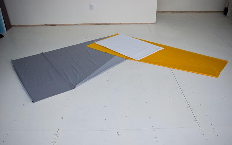 Grey Yellow Zig (Irregular Polygon Series)