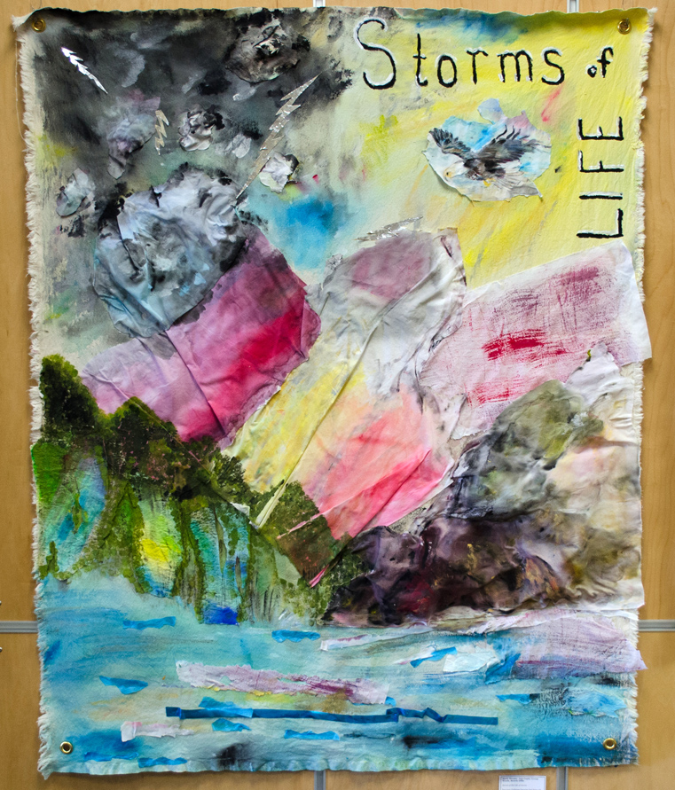 Sandy Shrader, Anju Gupta, George Woods, Beverly Dillie, Storms of life/Life of storms